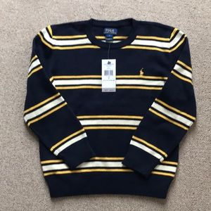 Boys Ralph Lauren Cotton Sweater NEW with tags!